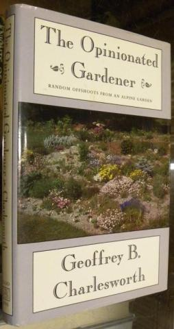The Opinionated Gardener: book cover