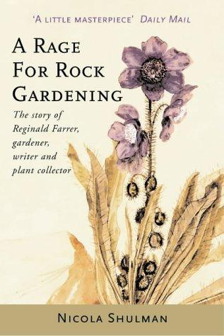 A Rage for Rock Gardening: book cover