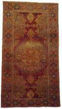 Antique rug from the Ushak region